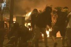 Na ulicach Barcelony doszło do regularnej walki między protestującymi a policją.