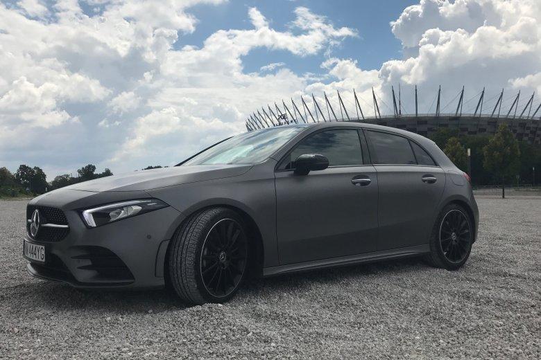 Nowy Mercedes A. Wygląda świetnie.