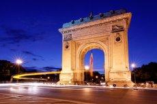 Łuk Triumfalny w Bukareszcie może teraz zacząć być symbolem rumuńskiego sukcesu w świecie IT.
