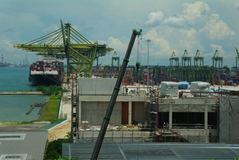 Port kontenerowy w Singapurze