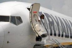 Awantura na pokładzie Ryanaira - musiała zainterweniować policja. Do incydentu doszło na lotnisku w Maladze.