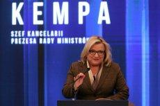 Beata Kempa nie jest już szefową Kancelarii Premiera. Teraz będzie zajmować się udzielaniem pomocy uchodźcom.
