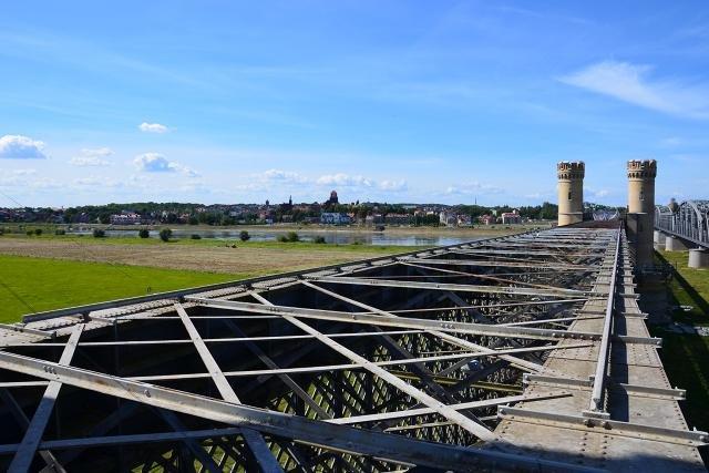 Most Tczewski był w XIX wieku najdłuższym mostem w Europie