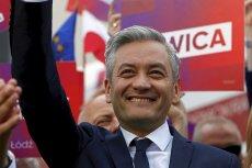 Robert Biedroń podziękował Udo Bullmannowi z niemieckiej SPD za wsparcie w wyborach prezydenckich. Szef Wiosny został właśnie kandydatem Lewicy.