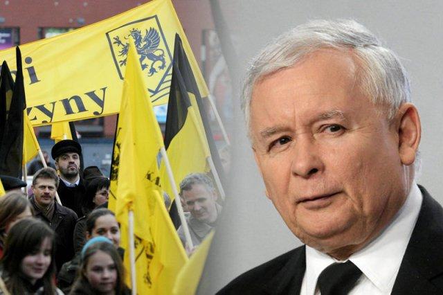 Kaszubi ostrzegają przed programem wyborczym Prawa i Sprawiedliwości. To reakcja na pomysł rozbioru Kaszub, którego chce Jarosław Kaczyński.