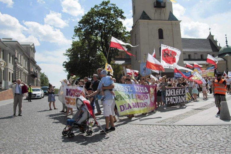 Uczestnicy niedzielnego Marszu i festynu dla dzieci mogli zapoznać się z poglądami Kościoła na homoseksualizm.