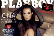 """Aleksandra Popławska rozebrała sięw nowym """"Playboyu""""."""