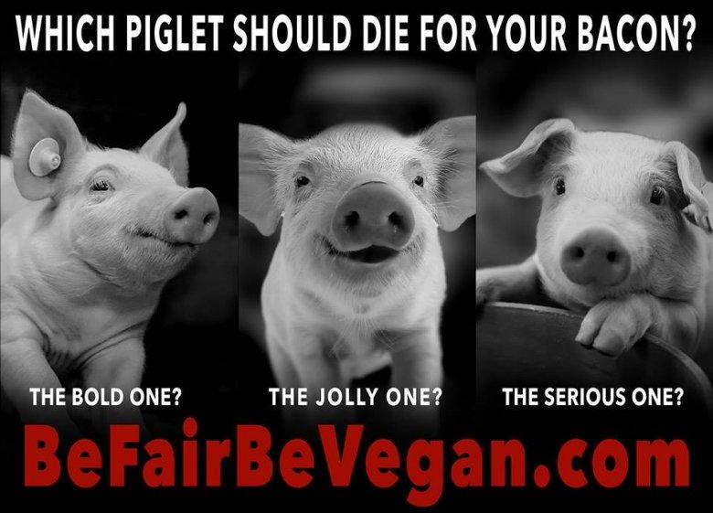 BE FAIR BEVEGAN - wegańska kampania billboardowa na Time Squere.  Które wybierzesz?