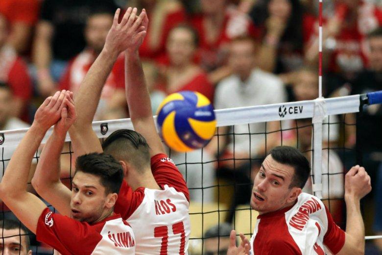 Polska bardzo pewnie pokonała Ukrainę na siatkarskich mistrzostwach Europy i awansowała do 1/8 finału.