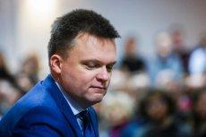 Szymon Hołownia przeprosił za swój spot wyborczy.