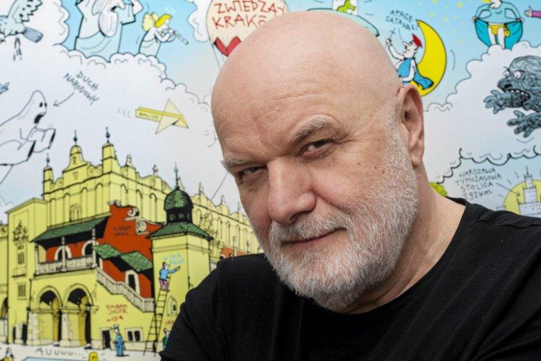 Andrzej Mleczko w rozmowie z naTemat o rysunku ze szpitalem psychiatrycznym i nie tylko.