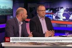 Łukasz Warzecha opuścił studio Superstacji po oskarżeniach, które wysunął wobec niego Jan Śpiewak.