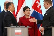 """""""O co Wam chodzi z tym Donaldem?"""". Czy takie pytanie europejskich partnerów mogło wywołać dziś to zdziwienie na twarzy premier Beaty Szydło...?"""