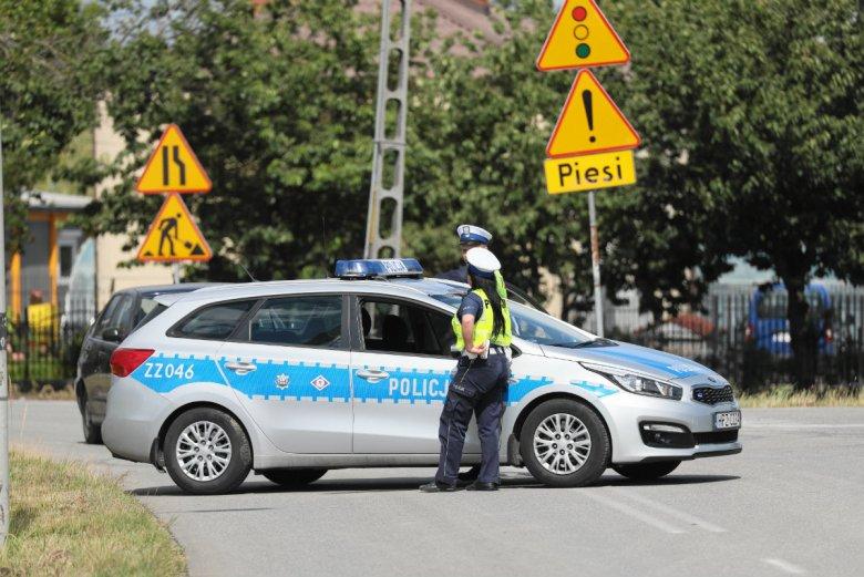 Ożarów Mazowiecki, okolice węzła Konotopa. To tu policja poszukiwała śladu po zaginionym Dawidzie.