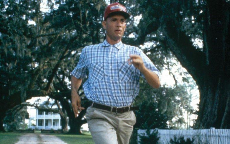 """Forrest Gump"" reż. Robert Zemeckis"