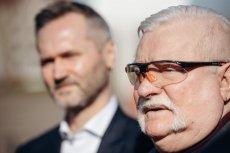 Lech Wałęsa obawia się porażki syna.