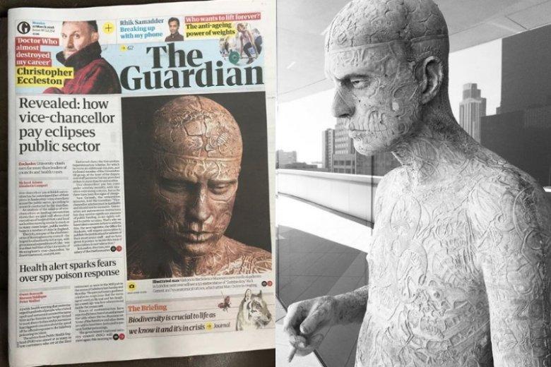 Rzeźba Marca Quinna pojawi się w londyńskim muzeum w 2019 roku