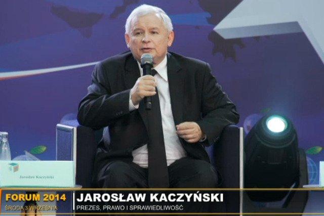 Jarosław Kaczyński uważa, że Polska powinna znacznie wzmocnić swoje siły zbrojne