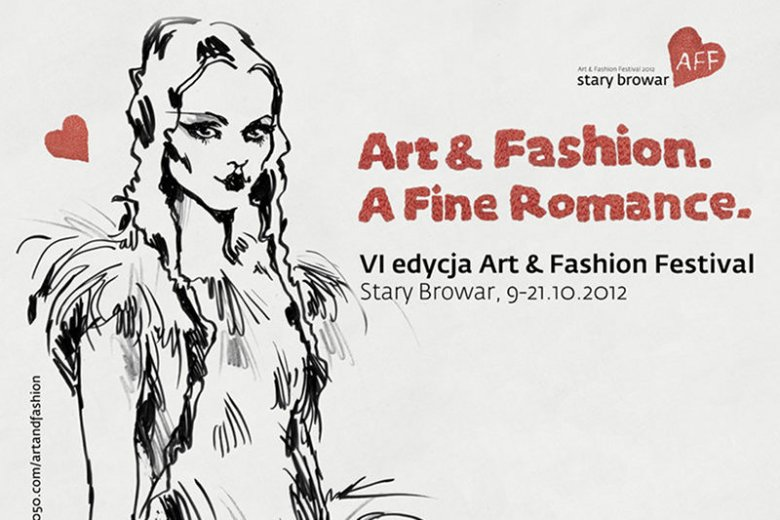 Motyw graficzny Art & Fashion Festival 2012