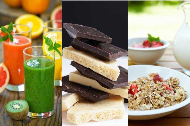 Syrop glukozowo-fruktozowy jest niemal we wszystkich produktach słodzonych: serkach, jogurtach, deserach, słodyczach, napojach, sokach, płatkach, ketchupach, dżemach czy miodach.