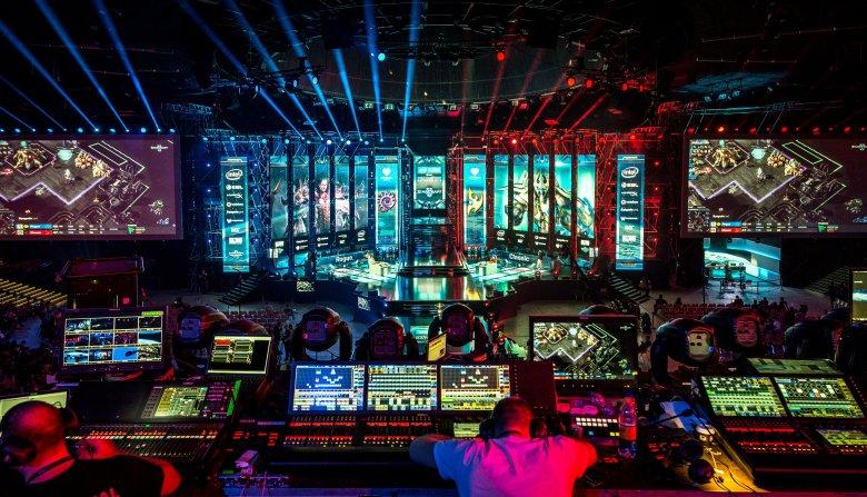 """Finał turnieju w """"StarCraft 2"""" na IEM Katowice 2018 r."""