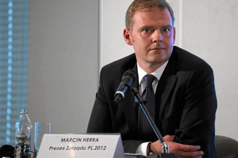 Prezes spółki PL.2012+ Marcin Herra zapowiada, że Stadion Narodowy będzie multifunkcjonalnym centrum rozrywki