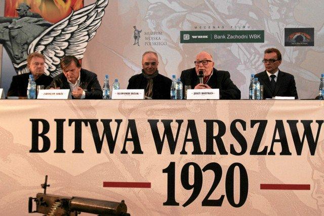 """Bez mecenatu BZW WBK nie było słynnego """"arcydzieła""""  o bitwie warszawskiej."""