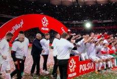 Polsat nie pokazał na żywo fety Polaków po meczu z Czarnogórą