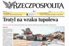 """Artykuł o """"Trotylu na wraku tupolewa"""", który wywołał medialno-polityczną burzę."""