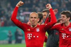Klęska FC Barcelony w Lidze Mistrzów. 0:7 w dwumeczu z Bayernem Monachium. Na zdjęciu strzelec jednej z bramek Arjen Robben.