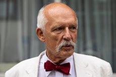 Janusz Korwin–Mikke był jedynką na liście Konfederacji w Warszawie.