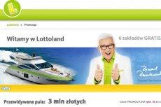 """""""Pan Lotto"""" reklamuje firmę bukmacherską z Gibraltaru, która łudząco przypomina Lotto."""