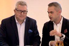 W programie poza Ryszardem Czarneckim pojawił się też m.in. Krzysztof Gawkowski z SLD.
