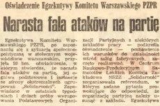"""""""Mamy powtórkę z rozrywki, choć stan wojenny raczej nie grozi"""". Internauta wrzucił na Twittera tekst z 11 grudnia 1981 r., który według niego brzmi podobnie do obecnego przekazu partii rządzącej."""