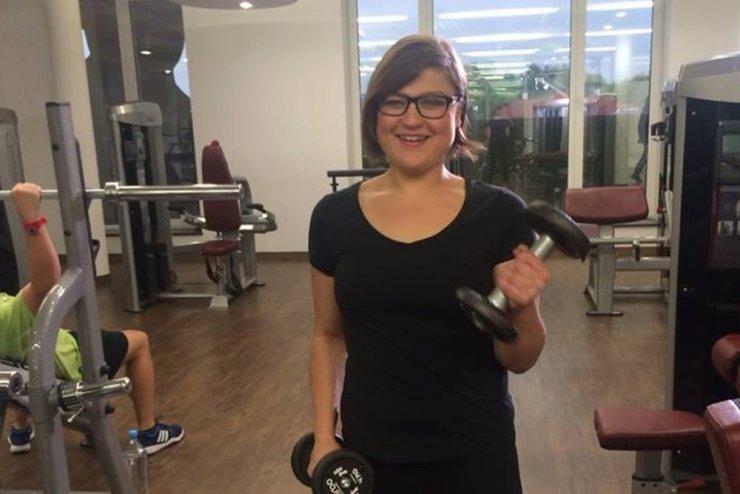 Aktorka Dominika Gwit opisała własną historię walki z otyłością.