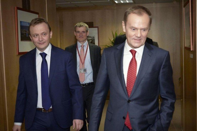 Były minister ds europejskich Piotr Serafin jest szefem gabinetu politycznego szefa Rady Europejskiej Donalda Tuska