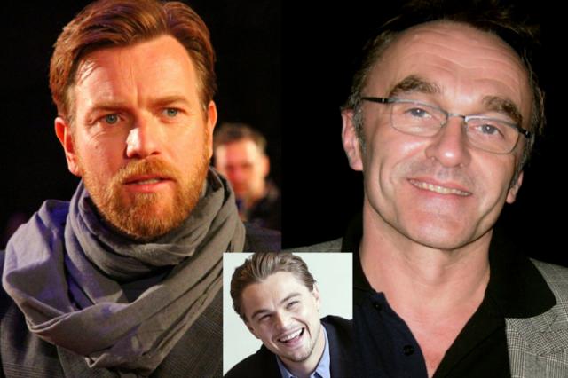 Aktor Ewan McGregor i reżyser Danny Boyle tworzyli zgraną parę twórców na planie filmowym. Kością niezgody było zatrudnienie Leonarda DiCaprio przez Boyle'a w filmie, w którym główną rolę miał zagrać McGregor