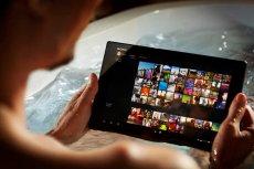 Xperia Tablet Z jest wodoodporny.
