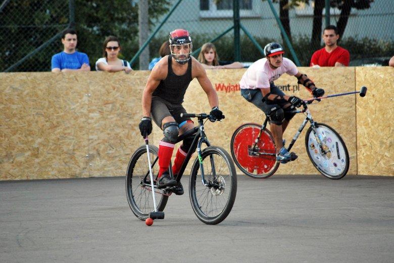 III Mistrzostwa Polski w Bike Polo, wrzesień 2012. Zdjęcie: Sonia Kozińska