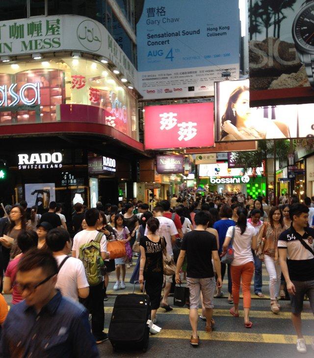Slow Walkers na Causeway Bay