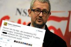 Rafał Ziemkiewicz w mocnych słowach ocenił uczestników protestów.
