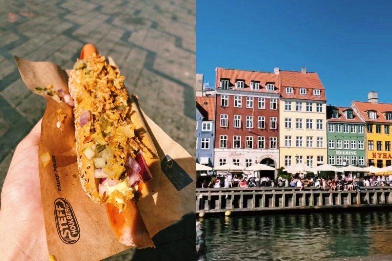 W krótkiej przerwie udało nam się spróbować słynnego hotdoga i zachwycić się kolorową zabudową miasta