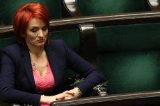 Bernadetta Krynicka twierdzi, że znalazłaby paragraf na protestujących w Sejmie rodziców i opiekunów osób niepełnosprawnych.
