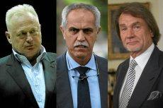 Od lewej: Ryszard Krauze, Zygmunt Solorz-Żak, Jan Kulczyk. Czy majątki najbogatszych Polaków ucierpiały na problemach Cypru?