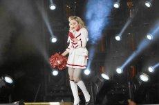 Madonna podczas koncertu na Stadionie Narodowym w Warszawie