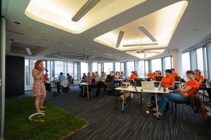 fot. Kuba Bożanowski, warsztaty organizowane przez Geek Girls Carrots