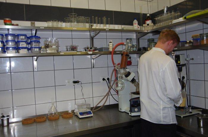 Laboratorium, probówki...