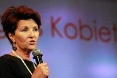 Jolanta Kwaśniewska odeszła z Kongresu Kobiet