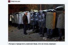Demonstracje w Giumri odbywają się od kilku dni. Rannych zostało już w nich kilkadziesiąt osób.