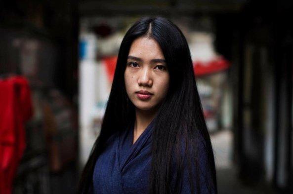 Zdjęcie Mihaeli Noroc wykonane w Chinach